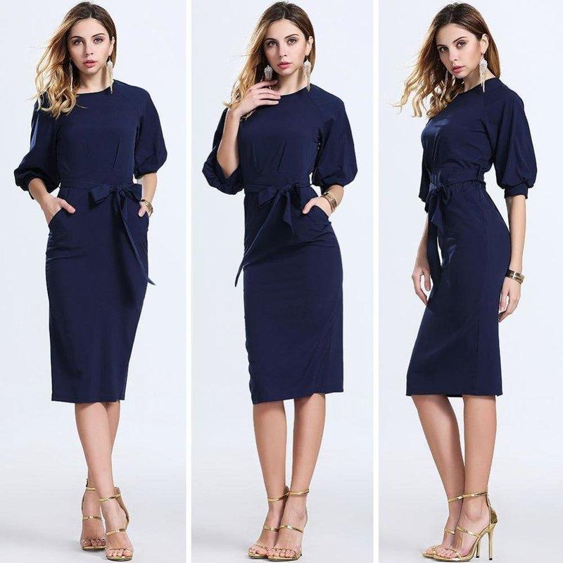 Модное весеннее платье