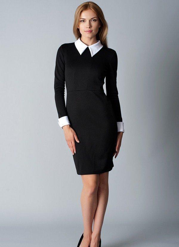 Офисное платье-футляр