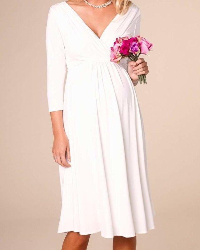 Свадебное платье для второго триместра