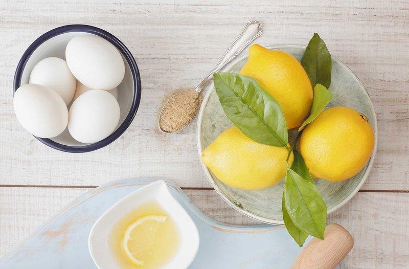 Рецепт белковой маски для лица с лимоном