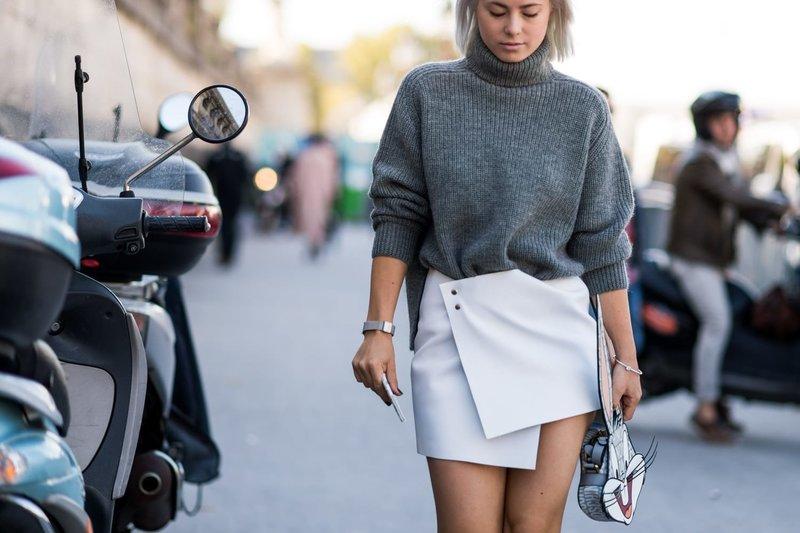 Весенний образ в свитере