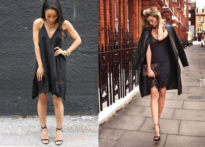 Короткие наряды: стильные образы