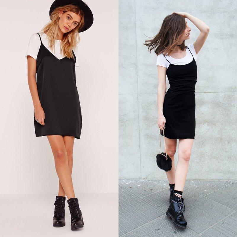 Модный короткий наряд
