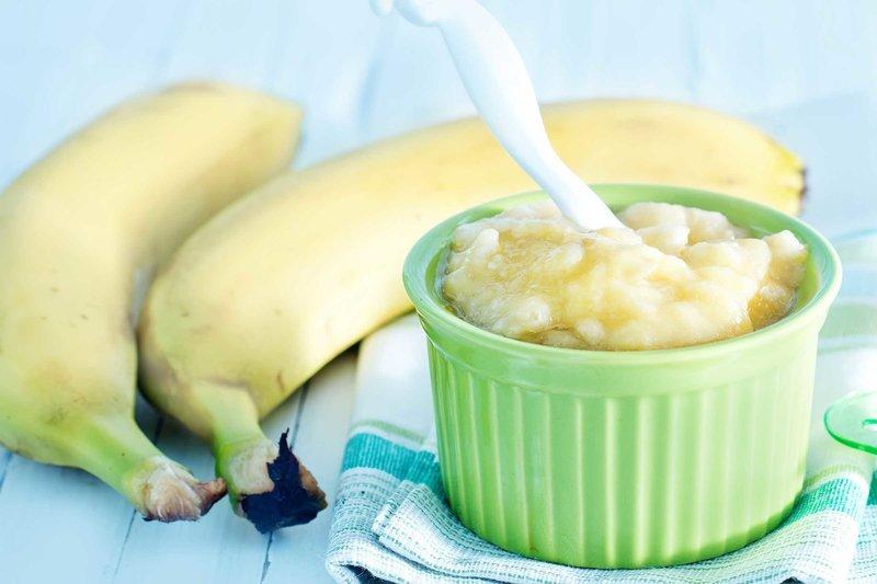 Маска с бананом