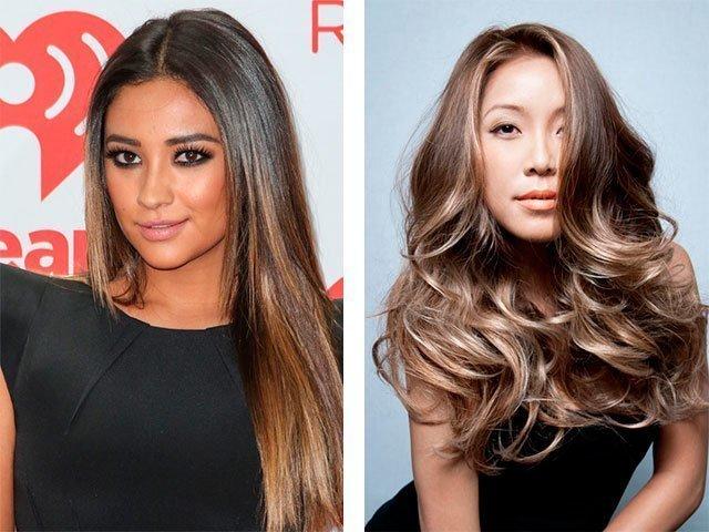 Как перекрасить тёмные волосы в более светлый 80