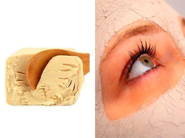 Маска для лица от мелких морщин возле глаз в домашних условиях