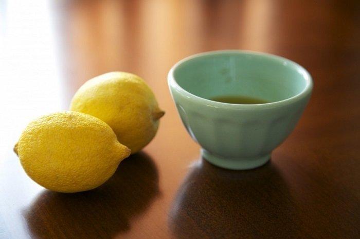 Маска для волос из оливкового масла и лимона