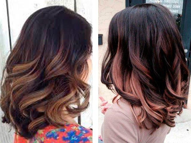 покраска балаяж фото на короткие волосы