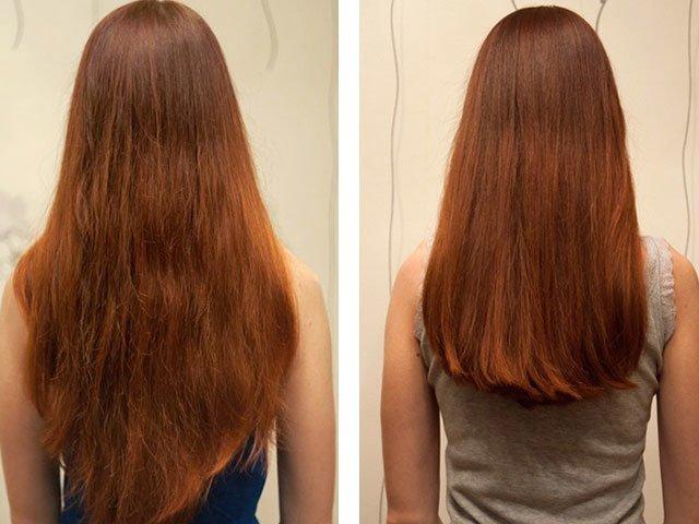 Эффект от миндального масла для волос