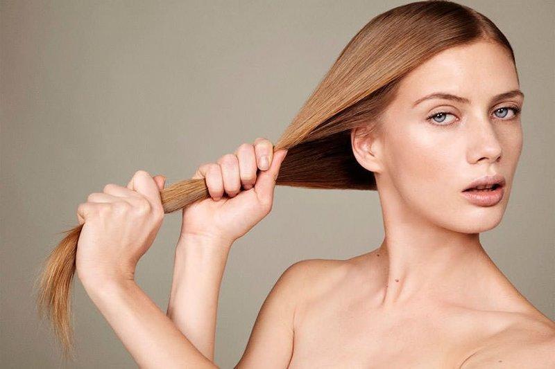 Народные средства для выпрямления волос