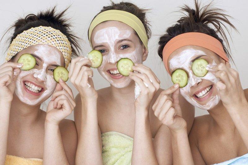Применение маски на лицо