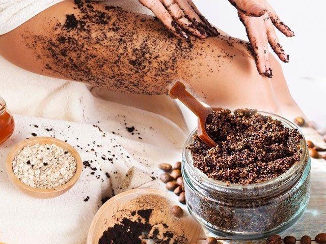 Piling od kafe protiv celulita