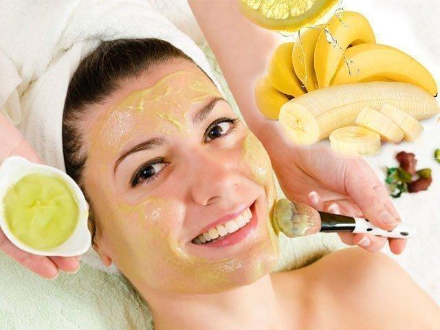 Маска для лица из банана от морщин и для кожи вокруг газ