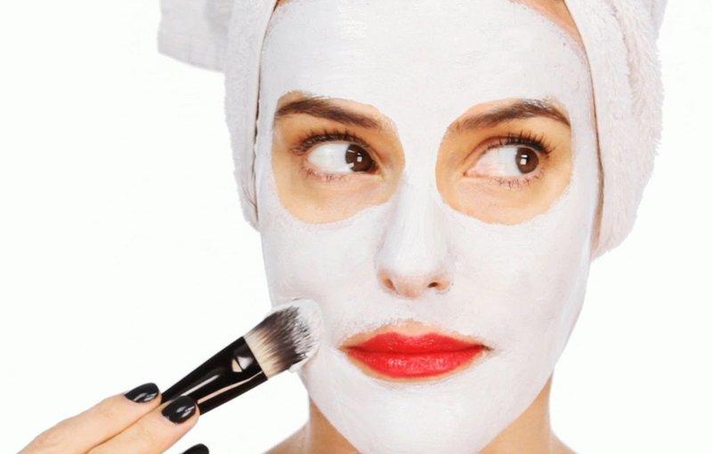Применение маски от морщин