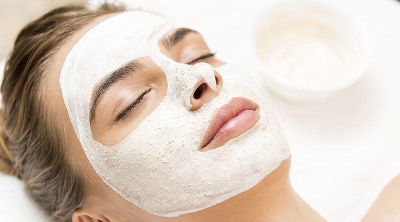 Увлажняющая маска с крахмалом