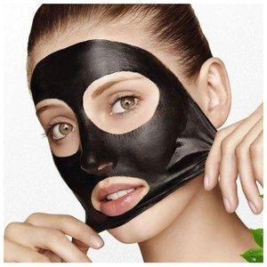 Как применяется черная маска для лица