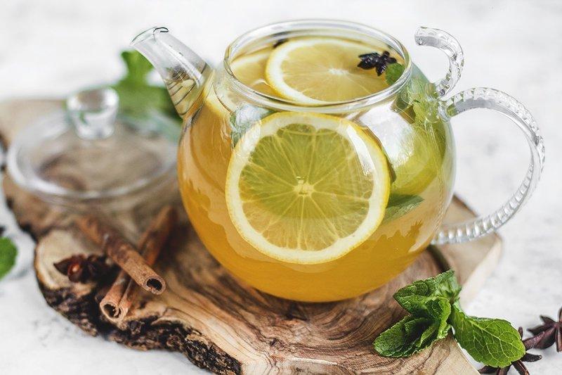 Рецепт мятного медового сбитня с лимоном