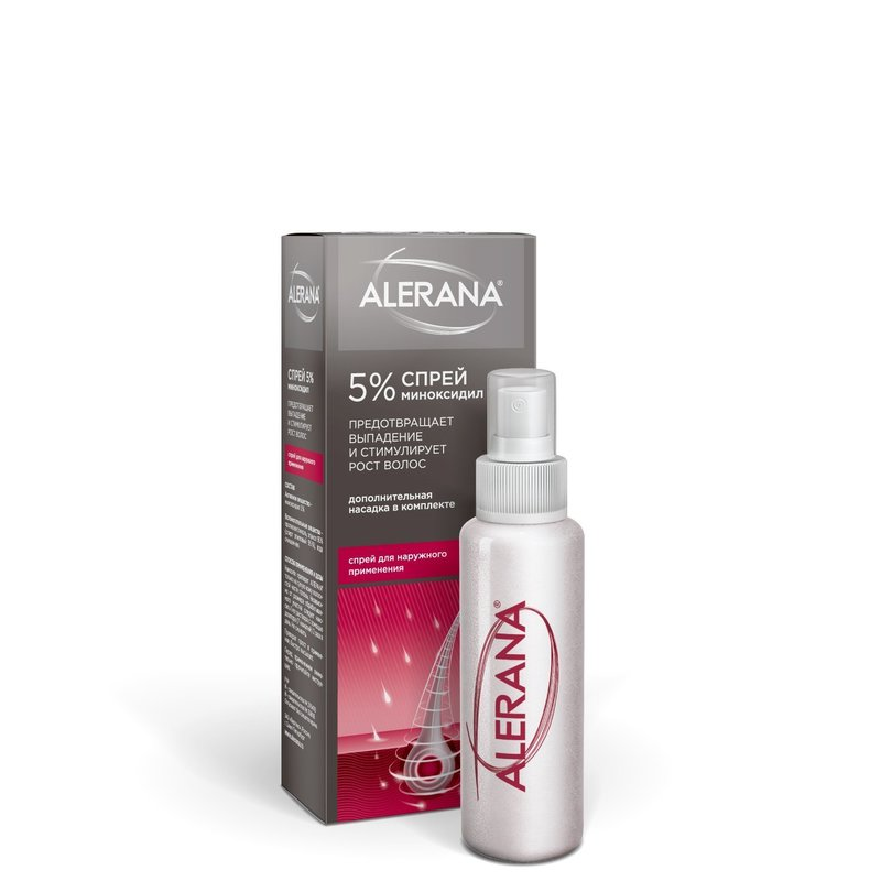 Спрей для роста волос Алерана