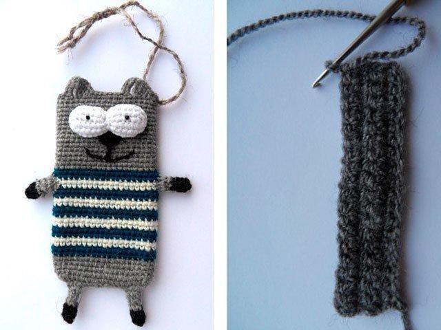 1-10 Вязание чехла для телефона крючком: как связать своими руками, варианты схем сумочки для смартфона