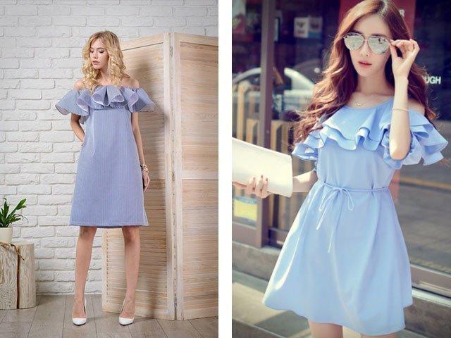 Как сшить модное платье для девушки