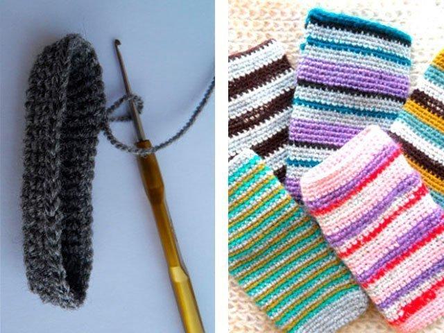 2-5 Вязание чехла для телефона крючком: как связать своими руками, варианты схем сумочки для смартфона