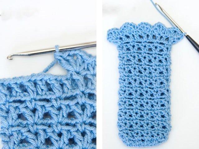 5-5 Вязание чехла для телефона крючком: как связать своими руками, варианты схем сумочки для смартфона
