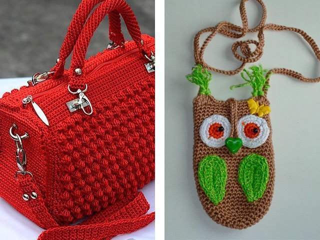 140e08203c15 Сейчас модно создавать летние вязаные сумки своими руками спицами из  трикотажной пряжи – они получаются очень мягкие и необычные. Узор можно  выбрать самой: ...