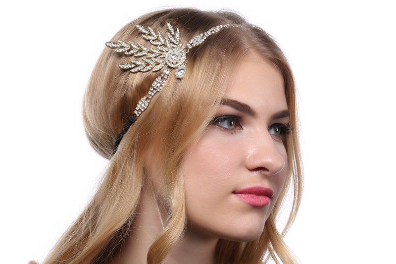 Украшение для волос в стиле ретро