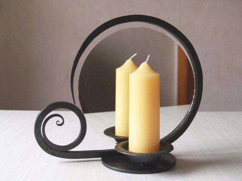 Свеча и зеркало для заговора