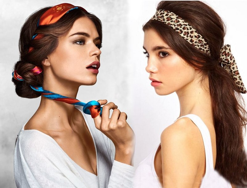 Платки для волос