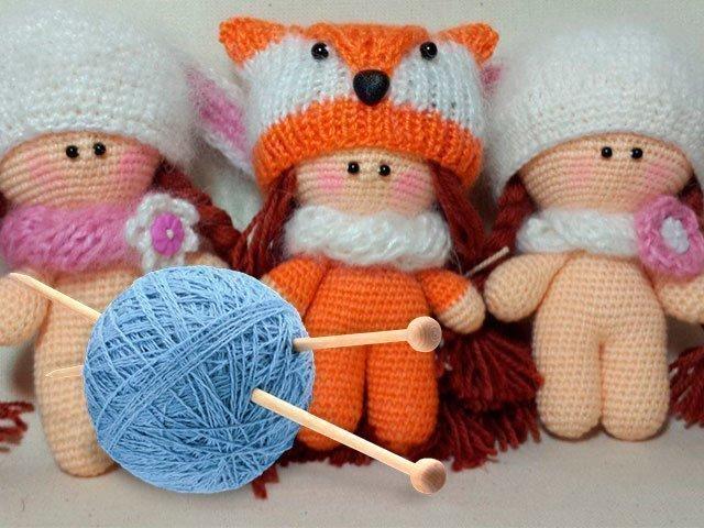 Вязание куклы спицами для начинающих со схемами фото 212