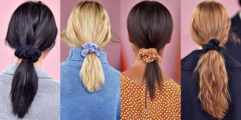 Объёмные резинки для волос