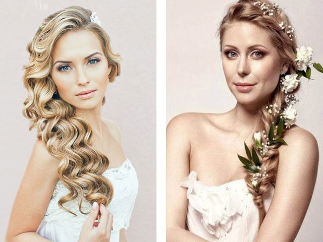 Прически на короткие волосы на свадьбу: 20 фото