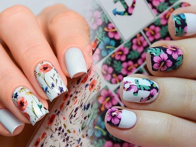 Дизайн слайдер для ногтей