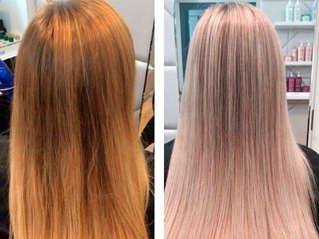 Тонирование волос в домашних условиях краской Эстель 53