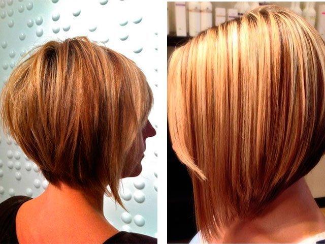 фото каре на удлинение с челкой на средние волосы