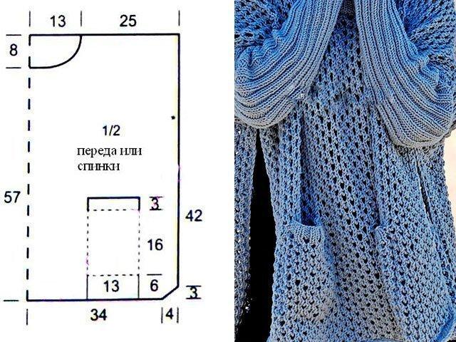 33 Спицами пончо схемы и описание вязание для женщин