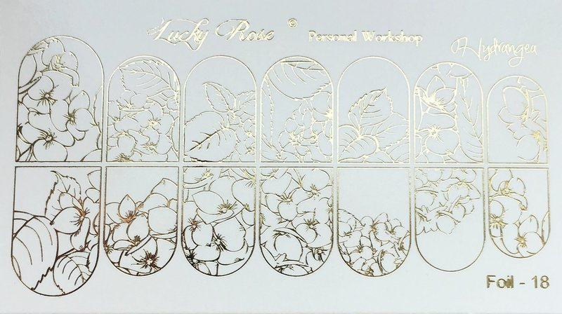 Контурные слайдеры с цветочным орнаментом