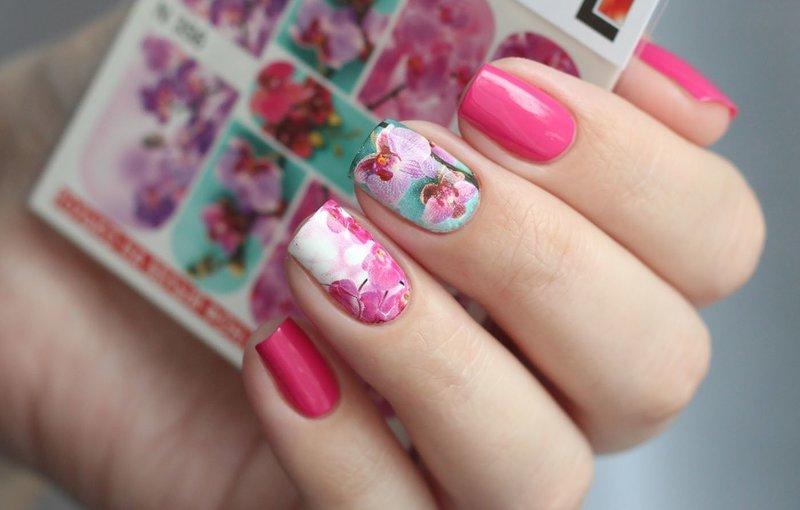 """Слайдер для ногтей """"Орхидея"""""""
