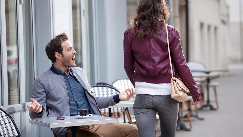 Неподобающее поведение при знакомстве