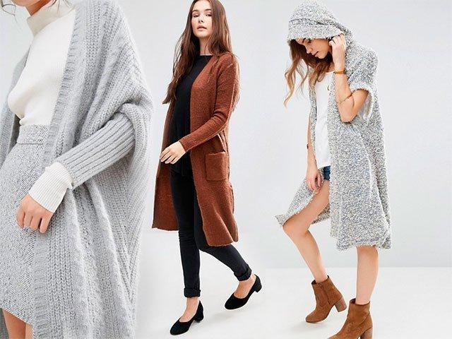 Вязаные пальто крючком со схемами и описанием для женщин 2018 фото