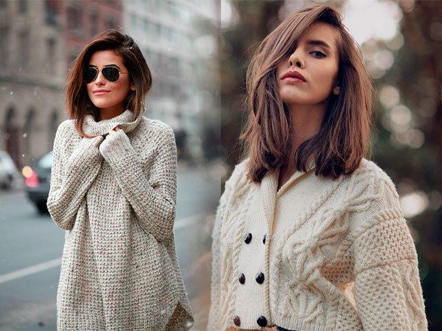 oblozhka-4 Вязаные кофты спицами 15 модных моделей для женщин с описанием