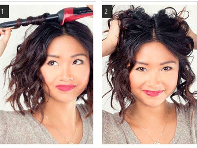 Как накрутить длинные и короткие волосы утюжком