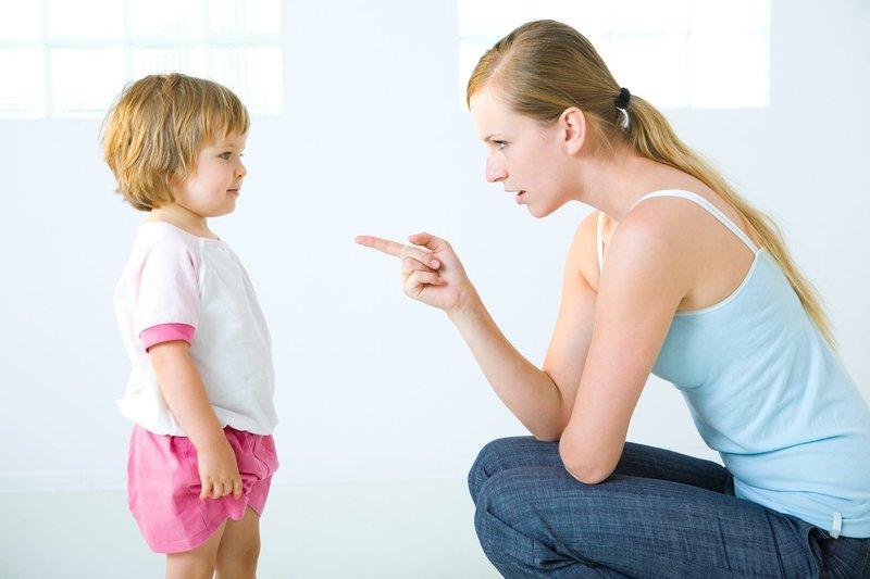 Воспитание детей методом наказания и поощрения