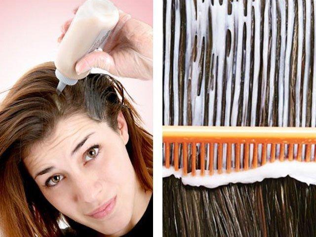 Как перекрасить тёмные волосы в более светлый оттенок? 27