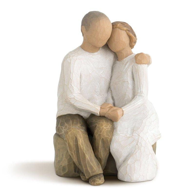 Свадебная скульптура из дерева