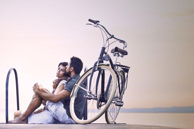 Романтическая прогулка на велосипеде для двоих