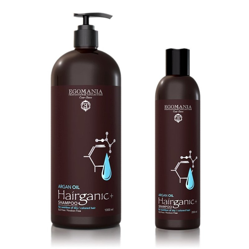 Egomania Shampoo Argan Oil for Dry & Colored Hair