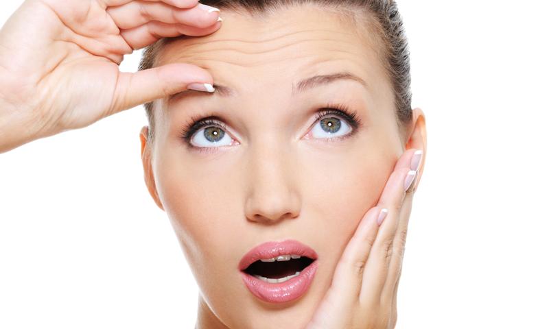 Петрушка против морщин на лице