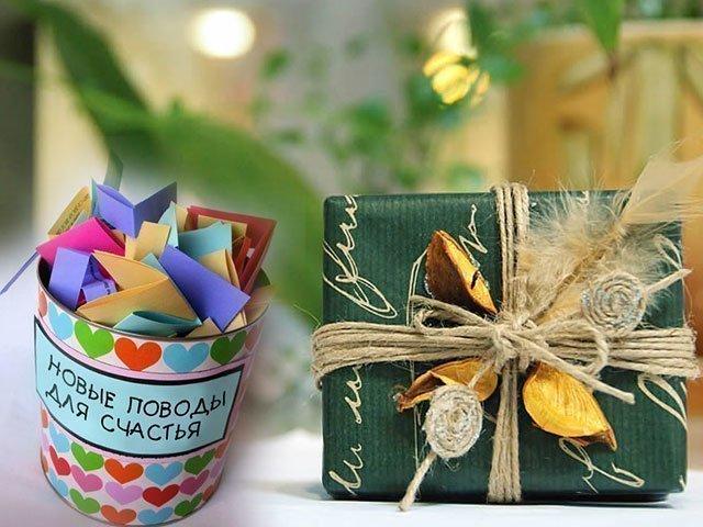 Подарки своими руками I Мастер-классы и идеи